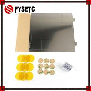 220x220 мм пружинный стальной лист + пей + магнит для превращения в магнитную горячую опорную поверхность для Wanhao i3 Anet A8 A6 Ender 5
