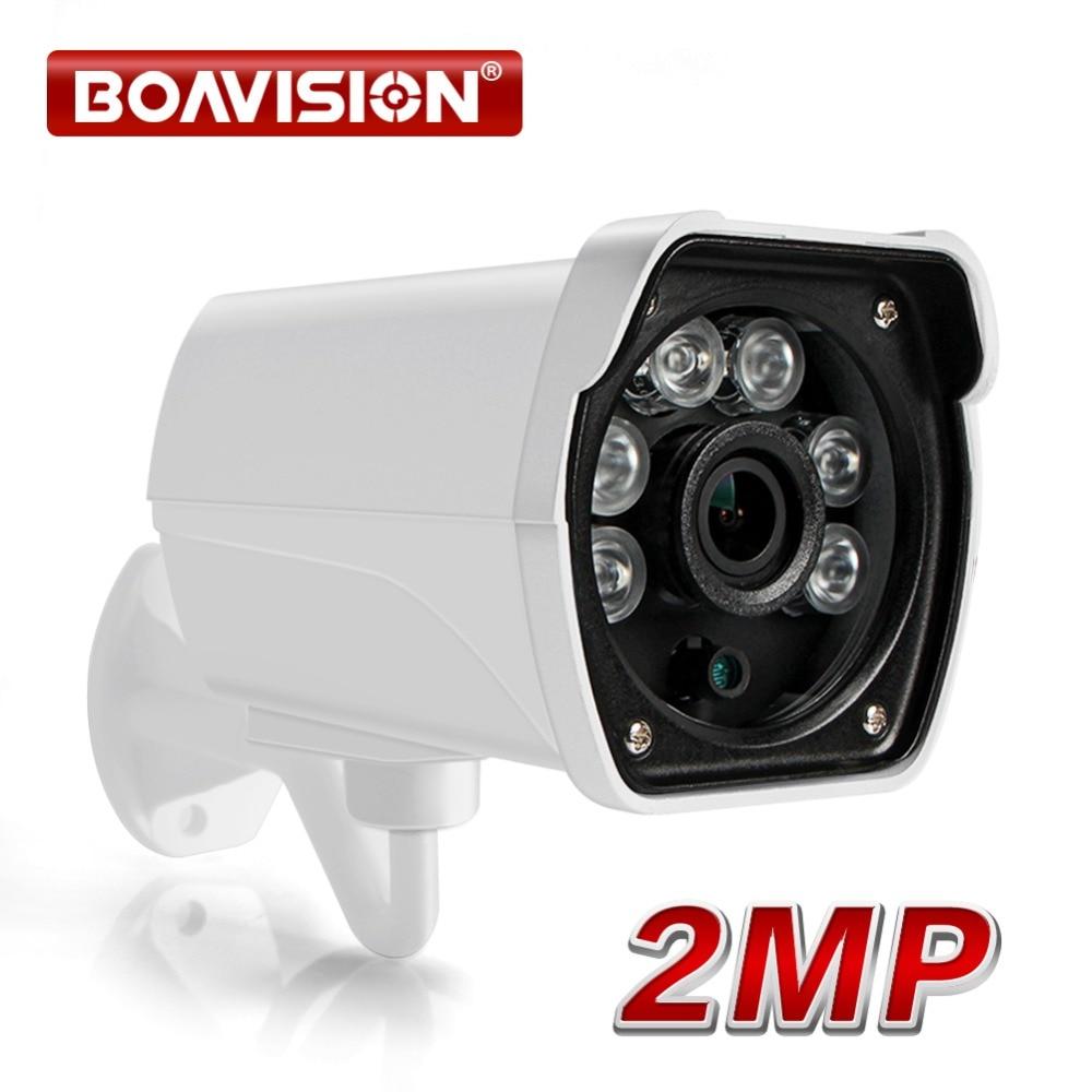 2MP IP Camera Outdoor 1080P Waterproof IP66 Network HD 2.0MP 1920*1080 Night Vision IR 20M HD CCTV Camera P2P Plug Play ONVIF