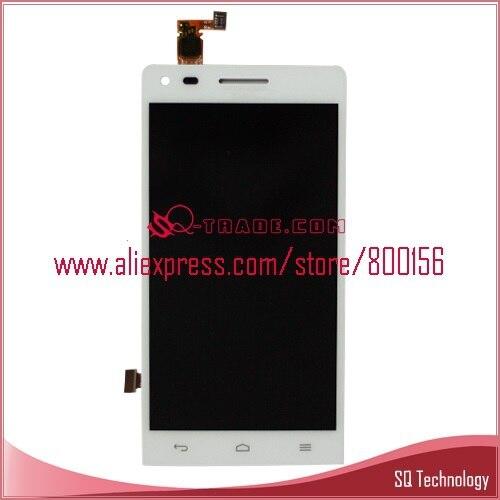 imágenes para Envío libre para huawei ascend g6 pantalla lcd display + digitalizador de pantalla táctil asamblea color blanco negro