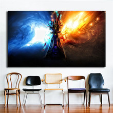 World Of Warcrafts Wallpaper Frost Mage Wall Art Canvas Posters Prints Painting Pictures For Bedroom Home Decor Artwork HD
