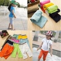 New 2016 fashion baby boy baby girls pants girls leggings kids girl pants children clothing candy color