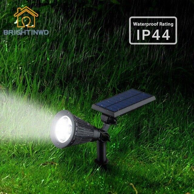 Garden solar light Outdoor lighting Powerful Luminaria Solar Two