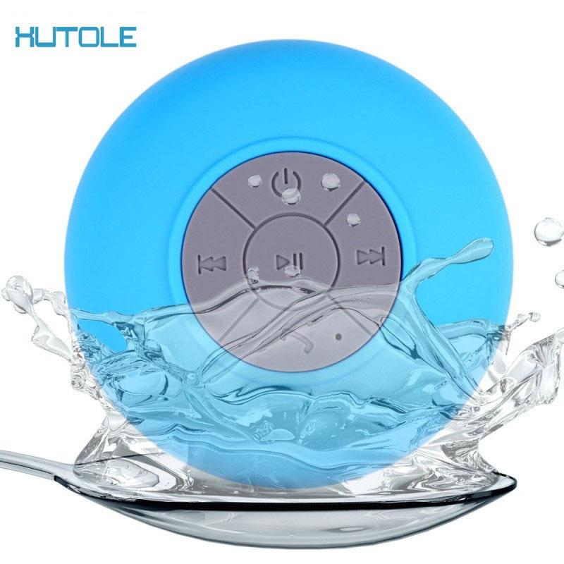 Portable Waterproof Wireless Mini Speaker Bluetooth Music Sound Car Speakers Waterproof Bathroom Shower Bar