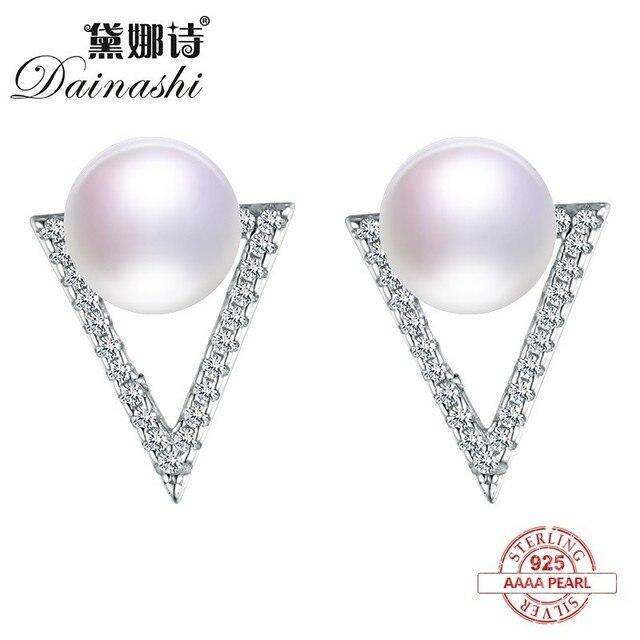 862cc627401d Dainashi contador especial Venta caliente clásico sencillo y generoso perla  de plata pendientes de gota fina