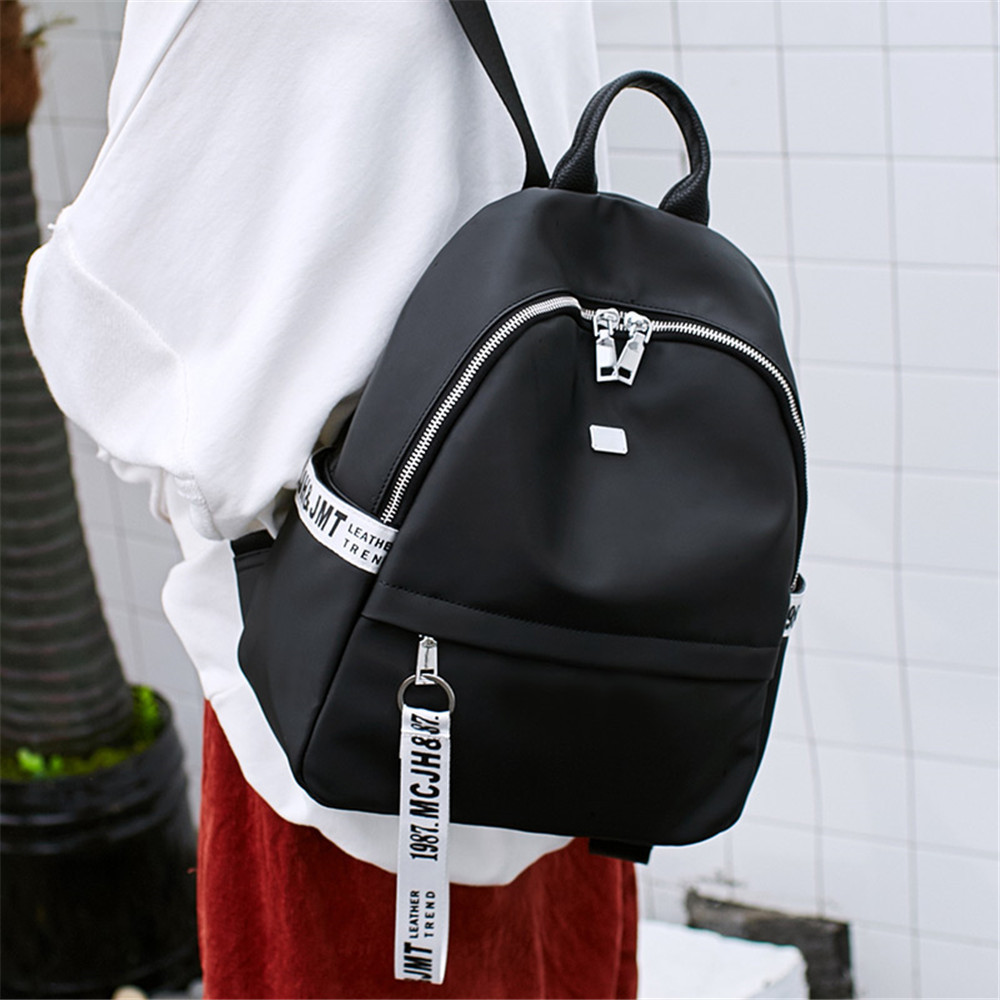 Backpack Female Tide 2019 New Korean Fashion Wild bag Student MiNi Campus British Wind in Backpacks from Luggage Bags