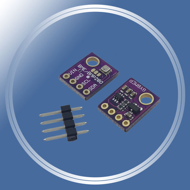 High Accuracy! 3In1 BME280 Digital Sensor Temperature Humidity Barometric Pressure Sensor Module GY-BME280 I2C SPI 1.8-5V