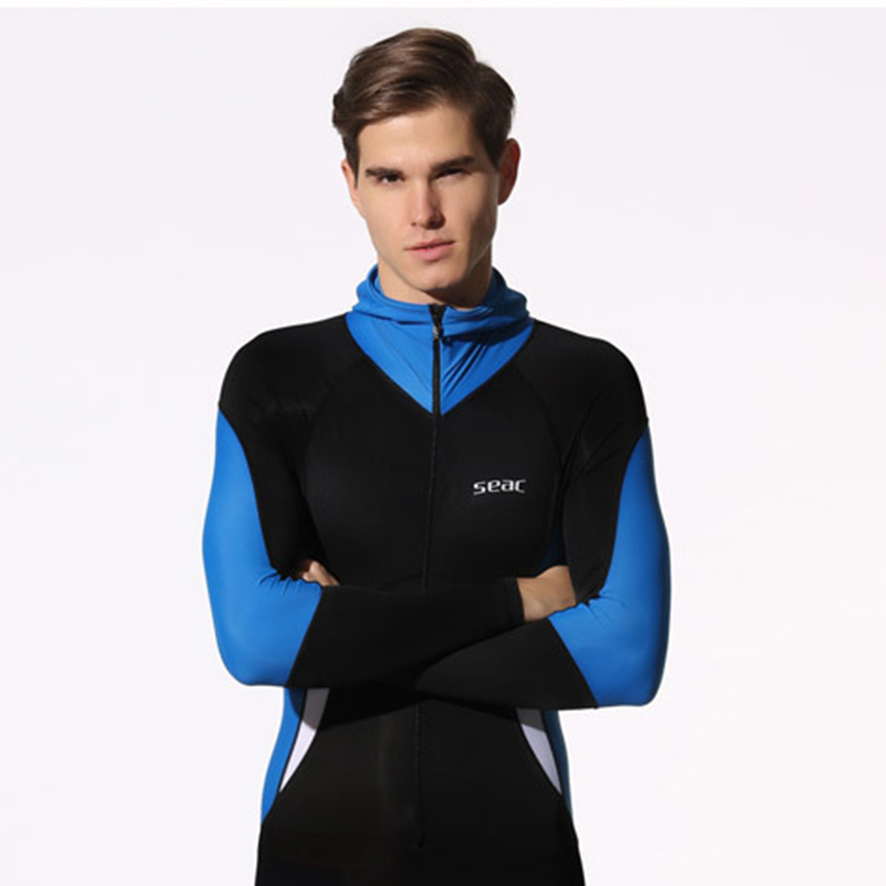 Wetsuit Men Scuba Diving Suit Hood Clothes Long Sleeve Lycra Surfing Wetsuit Plus Size Surf Wet Suits Full Body Swimwear uv suncreensuit men diving wetsuit scuba snorkeling diving suit men rashguard swimming long sleeve swimwear surf suit hmu0026 5