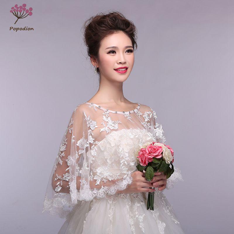 Wedding Lace Bolero Shawl Red Jackets Wrap Shawls Plus