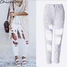 Новый Дизайн Джинсы Женщина Сексуальная Отверстие Джинсовой Карандаш Длинные Брюки Европейский И Американский Стиль Spodnie Damskie Джинсы женские Брюки джинсы