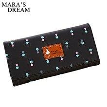 Mara's Dream Fashion Women Wallets Flower Leather W