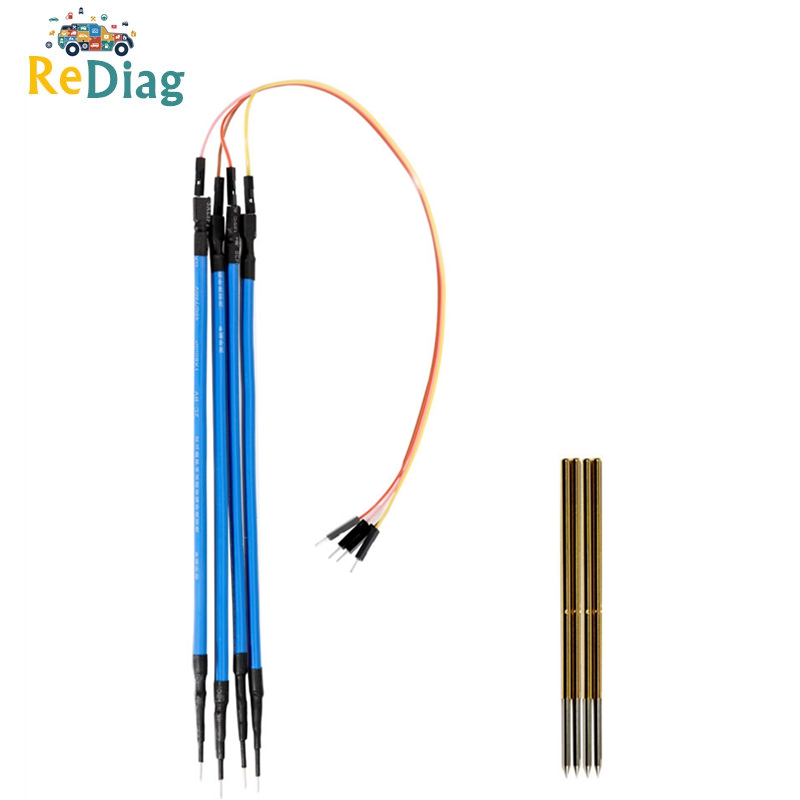 Replacement Probe Pin 4pcs/Set Works LED BDM Frame With Connect Cable 4 Needles Good Helper For KESS KTAG Et Free Shipping