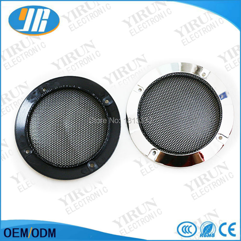 2pcs 4 inch speaker Metal circle grille For 4 inch Round Speaker net