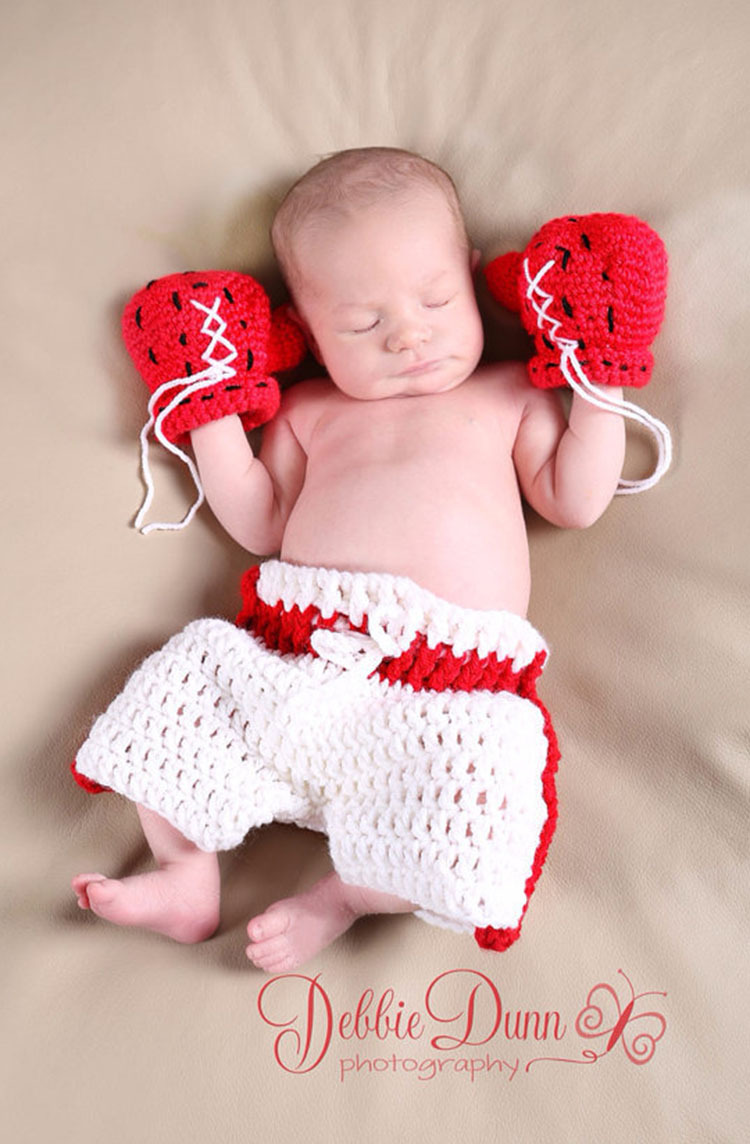High Quality New 0 6month Baby Crochet Photography Props ...  |Baby Boy Newborn Photography Props