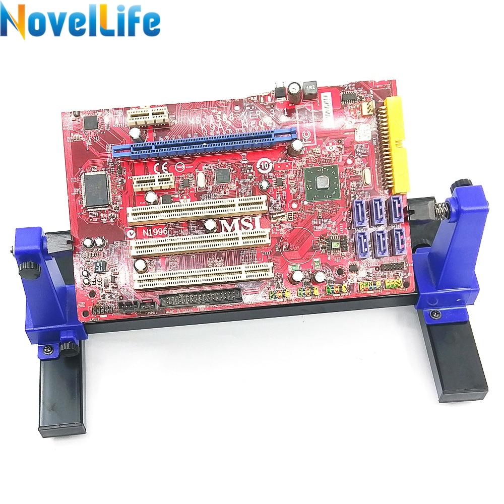 SN-390 PCB Halter Leiterplatte Jig Leuchte Löten Montage Stehen Clamp Reparatur Werkzeug Einstellbar 360 Grad Rotation