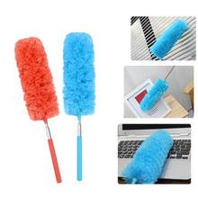 Soft Microfiber Duster Brush Anti-static Dust Cleaner Brush For Air-condition Car Furniture Cleaning Clean Brushes SQR3933(China)