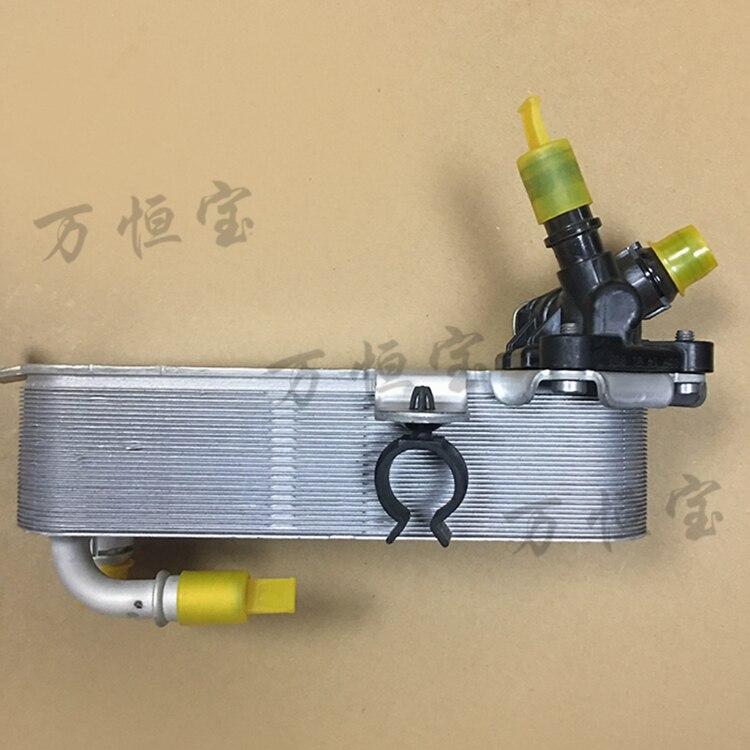 масляный радиатор теплообменника