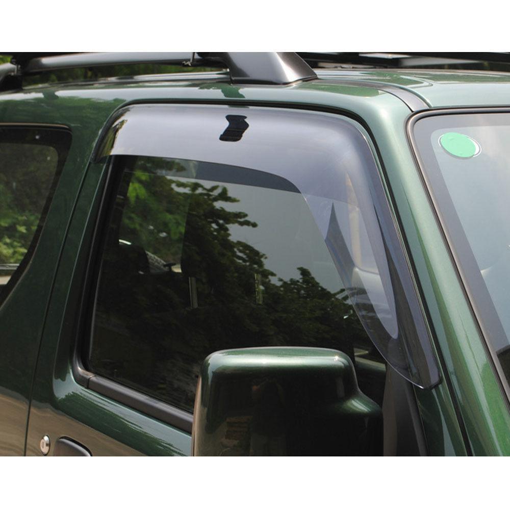 For Suzuki Jimny Car Window Visor Wind Deflector Rain Sun