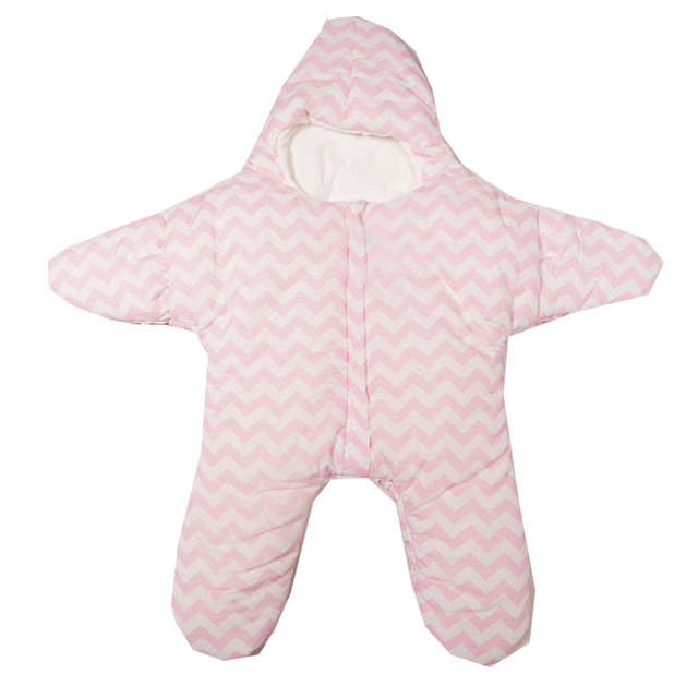Infant Baby Sleeping Bag Star Shaped Winter Warm Thick Stroller Sleeping Sack Jan04