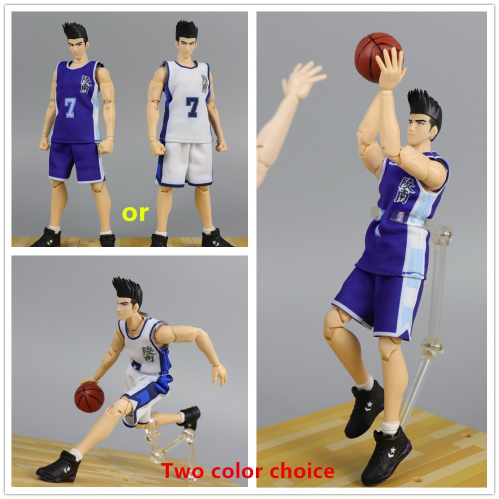 Dasin GT model 6 inch action figure anime Slam Dunk Sendoh Akira model blue or white ND034Dasin GT model 6 inch action figure anime Slam Dunk Sendoh Akira model blue or white ND034