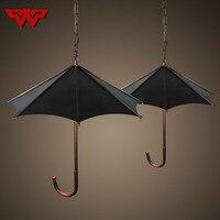 Американский офис люстра Ретро ностальгия зонтик контракт творческая личность Droplight три ресторана