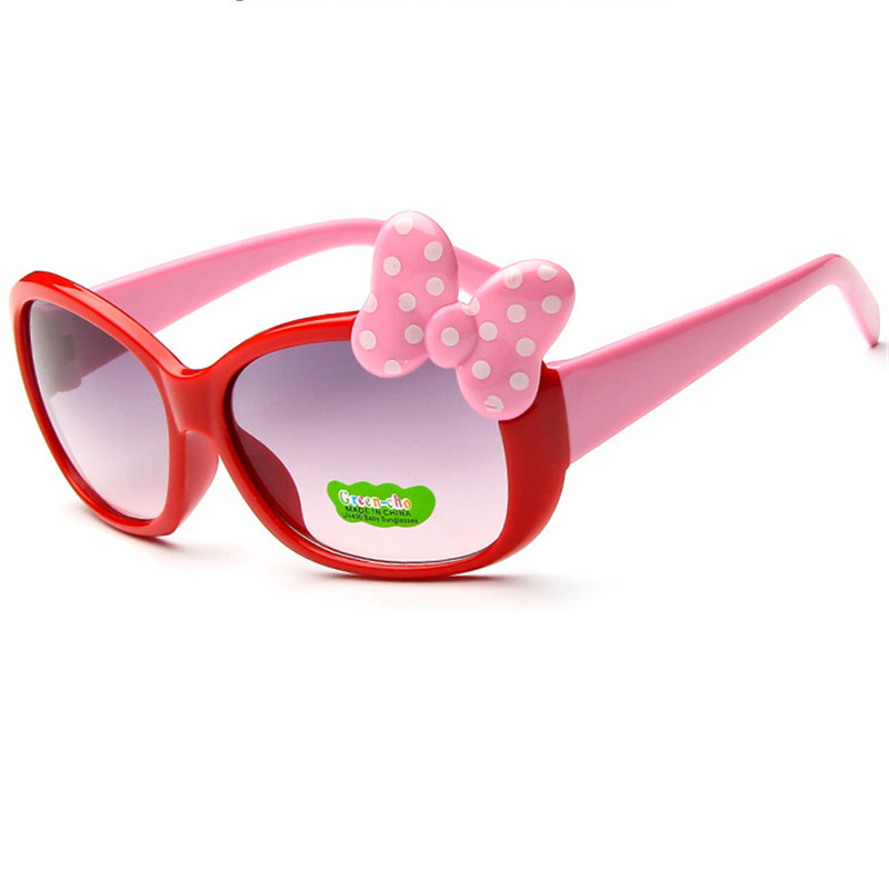 New fashion Kids Sunglasses children Princess cute baby Hello- glasses Wholesale High qu ...