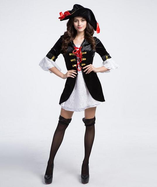 Hot Sexy Bucaneras Mujer Cosplay Pirate Halloween Costumes For Women Plus Size Witch Game Uniform Role  sc 1 st  AliExpress.com & Hot Sexy Bucaneras Mujer Cosplay Pirate Halloween Costumes For Women ...