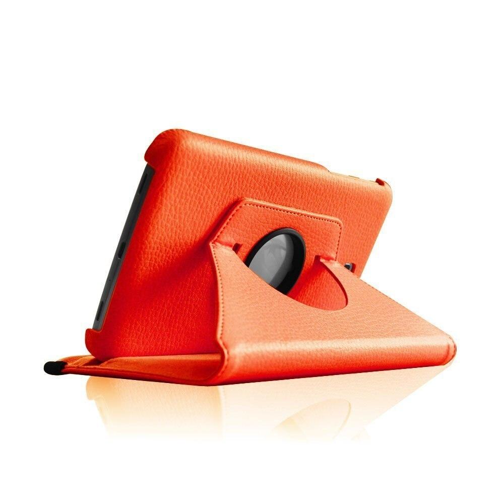 Novi Fanshion 360 vrtljivi PU usnjena torbica za Samsung Galaxy Tab 3 - Dodatki za tablične računalnike - Fotografija 3