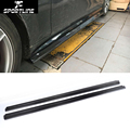 W204 C63 JC styling carbon fiber side skirts apron body kits for benz W204 C63 AMG 4-door 2013-2015