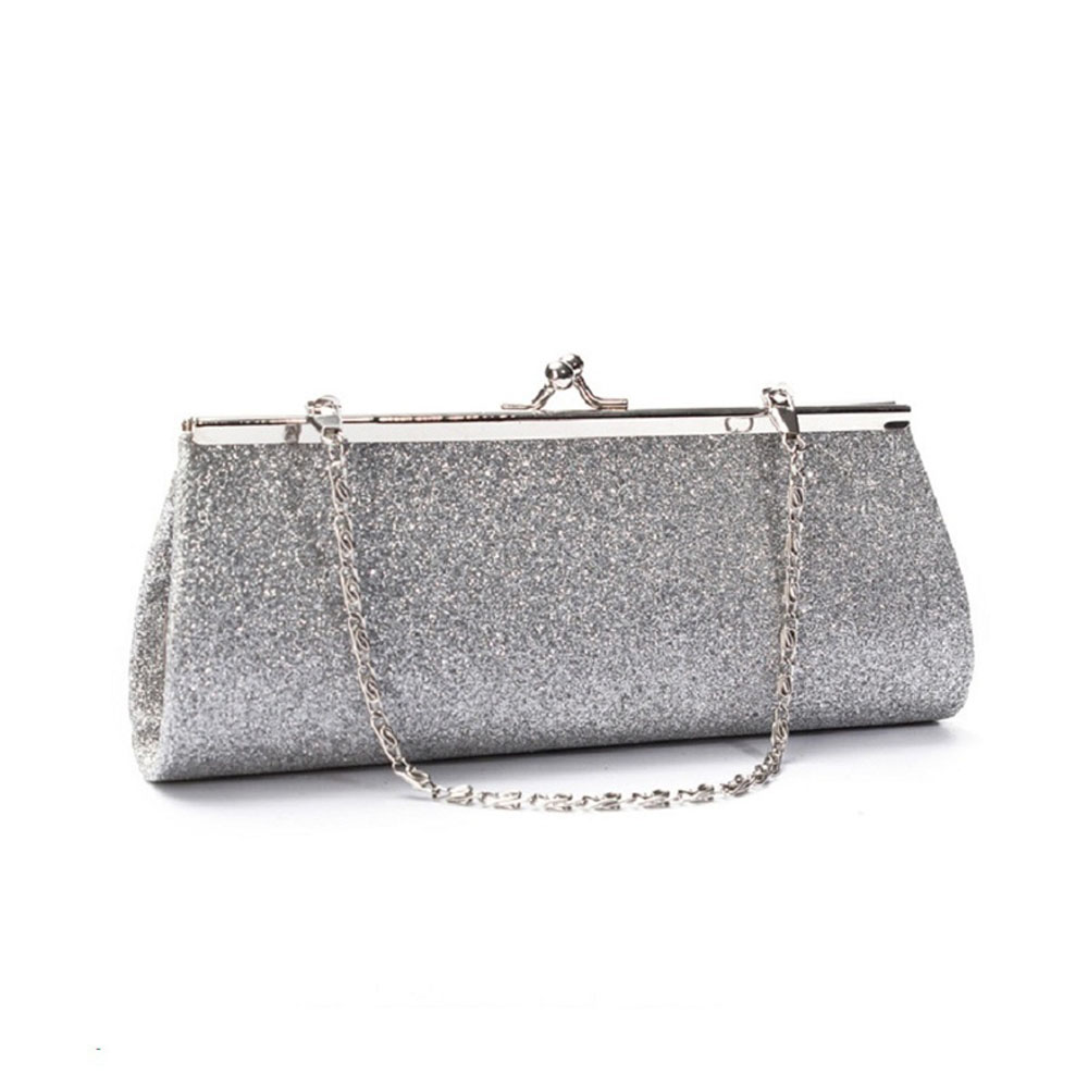 Women Glitter Sparkly Clutch Purse Evening Party Wedding Banquet ... 6ca3df9c4ba3