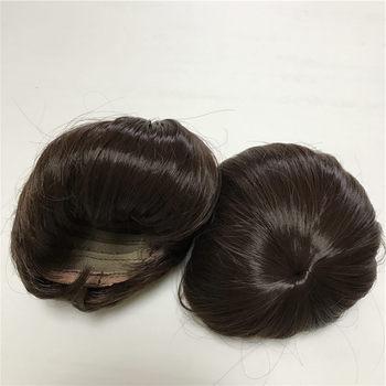 New Dark Brown Hair Wig For 17-18 inch Doll Reborn DIY NPK Accessories Fits Bebe Head Circumference Around 32CM - discount item  48% OFF Dolls & Accessories