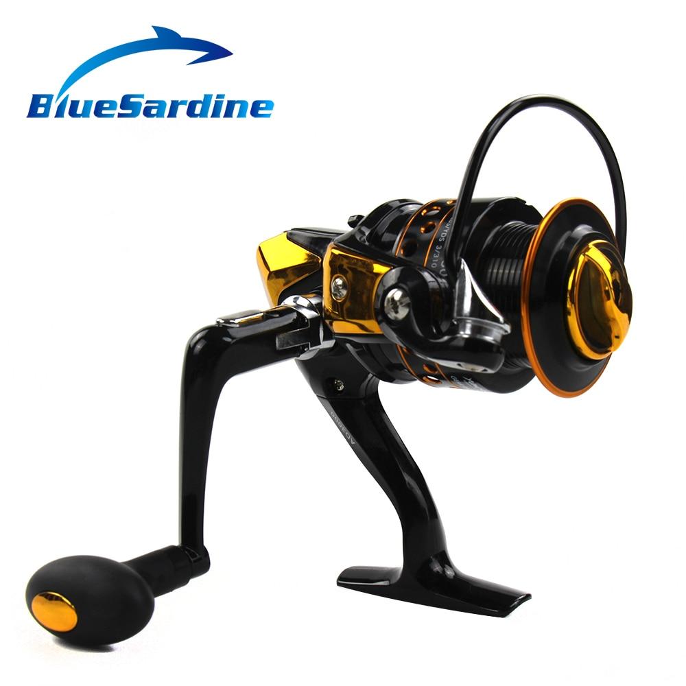 Renditje ingranazhi rrotullues BlueSardine Metal rrotullues 12 + 1BB - Peshkimi - Foto 6