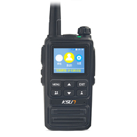 Rechargeable Long Range with GPS Two Way Radios with Earpiece 4G National intercom Walkie Talkies