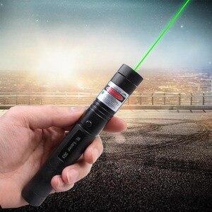 Image 2 - 2 adet yeşil ışık lazer kalem 500 metre lazer ışık cihazı 50MW yıldız lazer kalem fener 4 adet renk seçim için