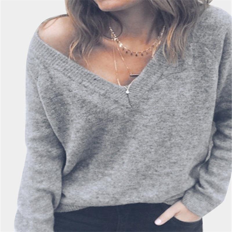JAYCOSIN Neue Mode Womens Outwear Mantel Frauen Langarm Gestrickte Pullover Jumper Damen Strickjacken Strickwaren Tops Mantel