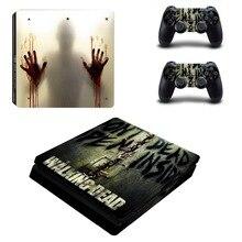 Film The Walking Dead PS4 Slim Skin Sticker