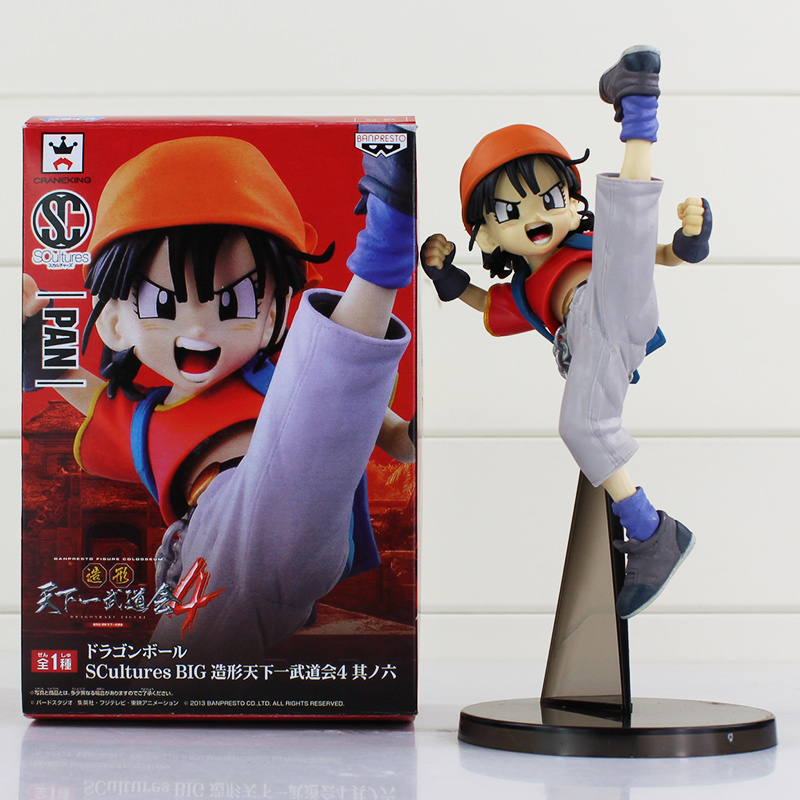 Anime Dragonball Dragon Ball SCultures Big PAN Action Figure Toy PVC Dolls Great Gift 18cm approxAnime Dragonball Dragon Ball SCultures Big PAN Action Figure Toy PVC Dolls Great Gift 18cm approx
