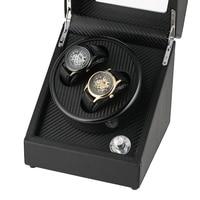 Au/eu/us/uk 플러그 자동 시계 와인 더 박스 케이스 홀더 기계식 시계 더블 와인딩 디스플레이 주최자 럭셔리 모터 셰이커