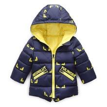 цена на Autumn Winter Children Hoodies Baby Boys Jacket Coat Fashion Kids Long Sleeve Toddler Girls Warm Outerwear 2 3 4 5 6 7 8 Years