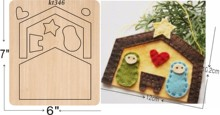 Small house decoration cutting dies 2019 new die cut &wooden Suitable  for common machines on the market