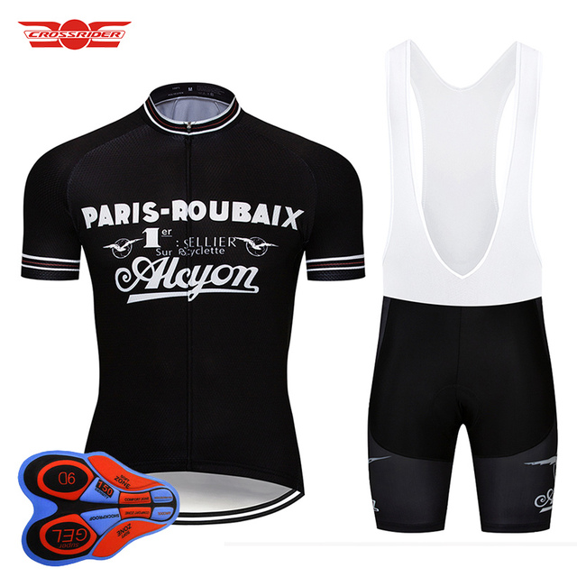 2018 Retro Cycling Jersey Set MTB Uniform Bike Clothing Ropa Ciclismo Classic  Bicycle Wear Clothes Mens Short Maillot Culotte 83a252fce