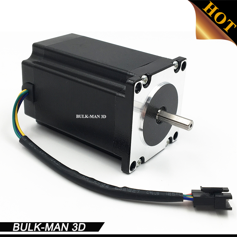 Nema 23 Stepper Motor 1/4 Shaft High Torque 2.45N.m for CNC Laser and 3D Printer