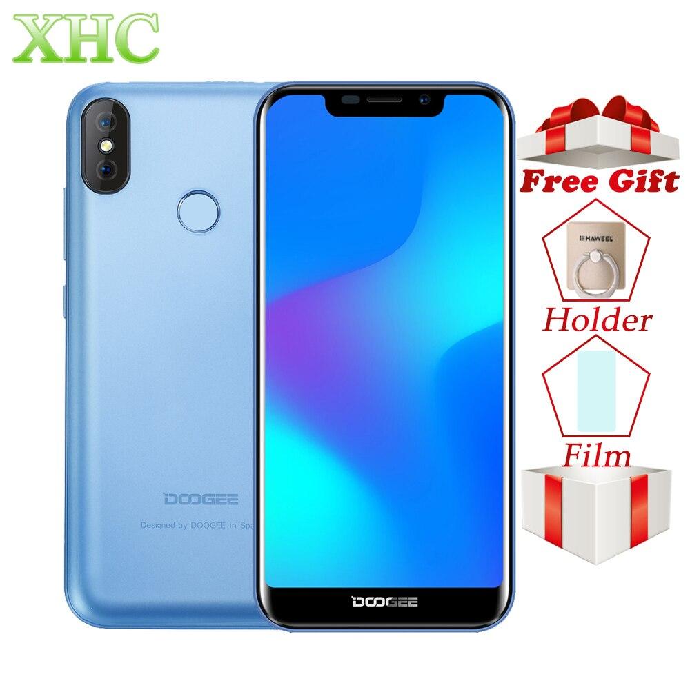 DOOGEE X70 Face Unlock 5,5 ''смартфон MTK6580 4 ядра 2 ГБ Оперативная память 16 ГБ Встроенная память двойной сзади Камера Android 8,1 dual SIM мобильный телефон 3G