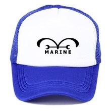 ¡Popular japonesa anime una pieza! trafalgar Ley verano sombrero de malla  azul marino bandera conductor de camión gorra de béisb. 30c3ce39d28