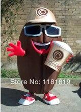 マスコットコーヒー豆マスコット衣装カスタムファンシー衣装アニメのコスプレキットファンシーdressカーニバル衣装