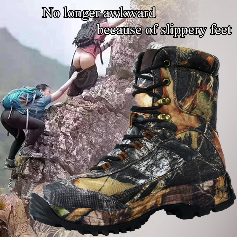 Cunge Sneakers Men Hiking Waterproof Shoes Tactical Boots Trekking Shoes Outdoor Sports Timber Land Shoes Hunting