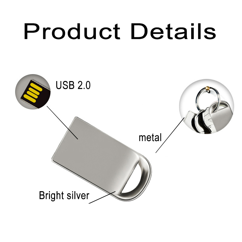 Super Mini Pen Drive 64GB USB Flash Drives 4GB 8GB 16GB 32GB 64GB Pendrive U Disk For Notebook Dropshipping