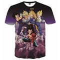2016 mulheres dos homens de anime dragon ball z camiseta 3d um piece/santa cruz imprimir t-shirt harajuku homme tshirt hip hop roupas de marca