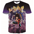 2016 women men anime dragon ball z t shirt 3d one piece/santa cruz print t-shirt harajuku tshirt homme hip hop brand clothing