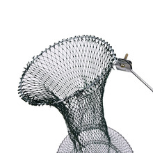 1PCS Portable Foldable Fishing Net Fish Shrimp Mesh Cage Cast Net Fishing Trap Wholesale 3 Sizes