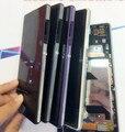 Оригинальный ЖК-Дисплей Для Sony Xperia Z2 D6502 D6503 ЖК-Экран Сенсорный Дигитайзер С Рамкой Замена + Инструменты + клей
